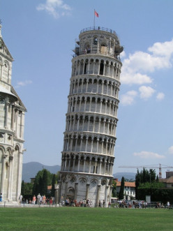 About the Leaning Tower of Pisa