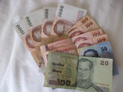 Baht is the money of Thailand