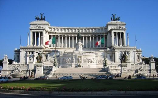 The Vittorio Emanuele II Monument