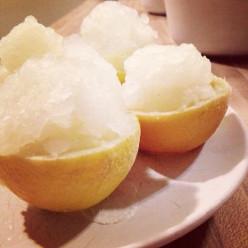 Lemon Sorbet Dessert