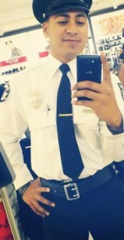 Mall Cop Selfie. Instagram id: smooth criminal.