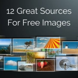 Free Images - Great Sources