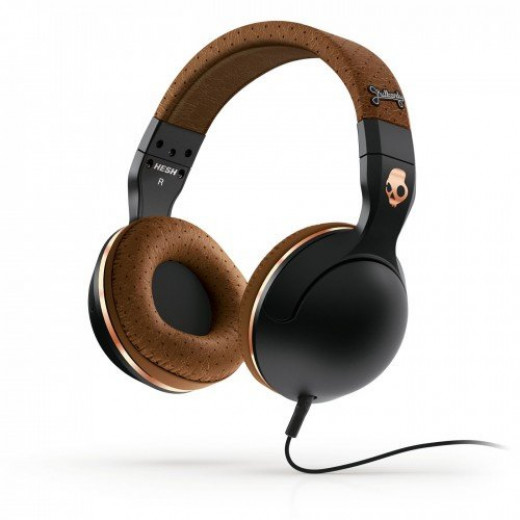 Skullcandy Hesh 2 elephant over ear headphone in black brown copper