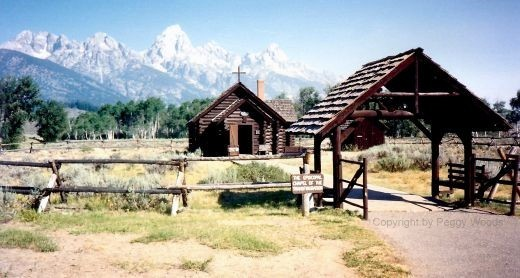 Chapel of the Transfiguration in the Tetons