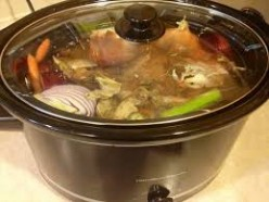 The beginning of a great pot of bone broth.