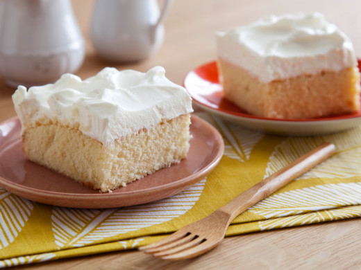 "Tres Leches Cake typically ""melts in your mouth"""