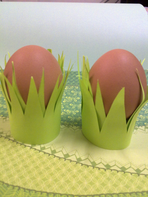 This is the Easter craft that we made last year, cute aren't they?