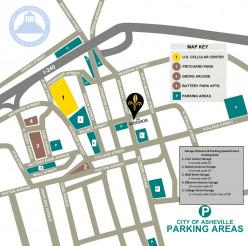 Asheville, NC - Places to Park