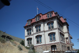 The historical Fourth District School in Virginia City