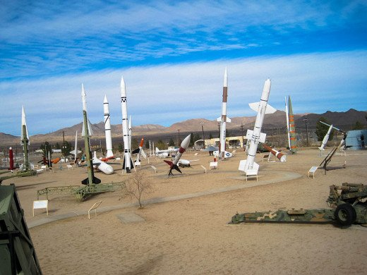 Part of the White Sands Missile Range Museum.