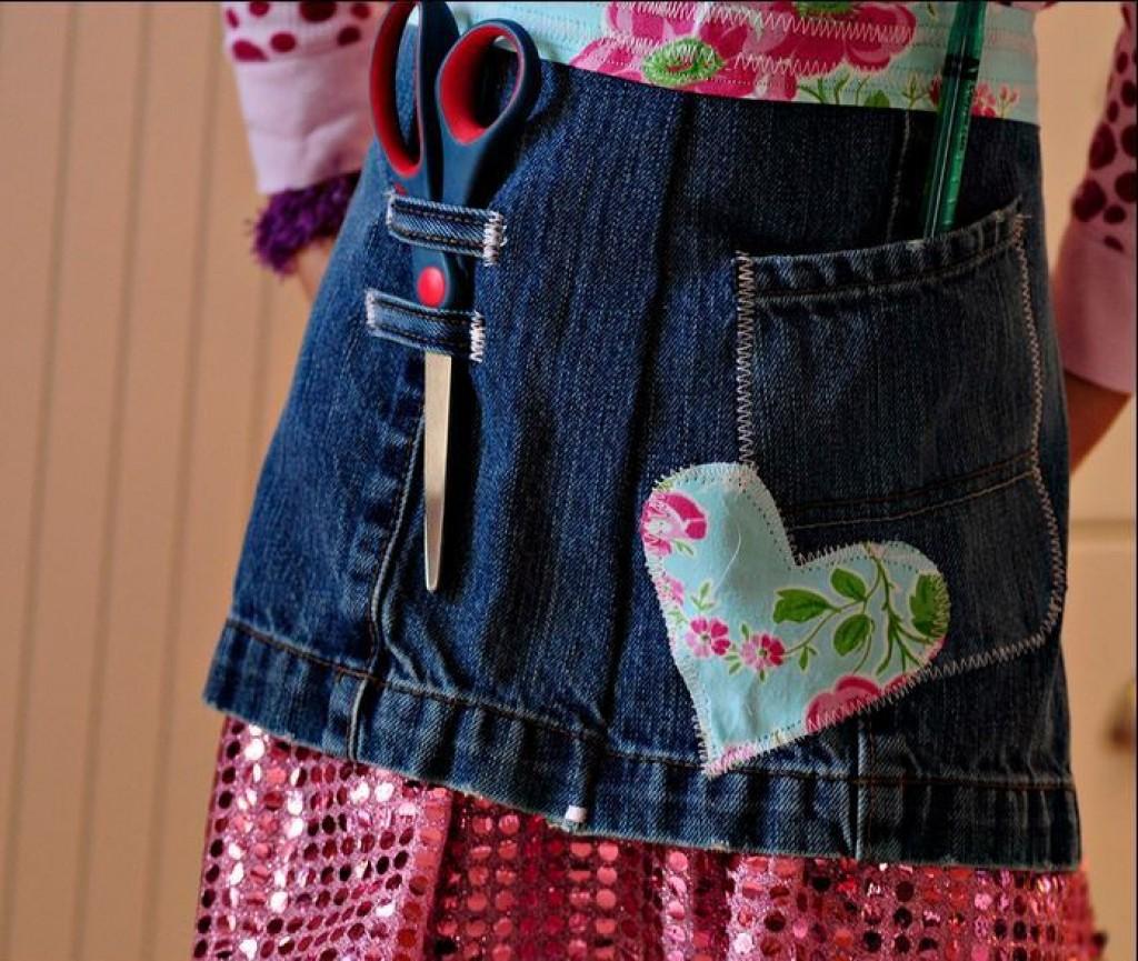 53 craft ideas using old denim jeans feltmagnet