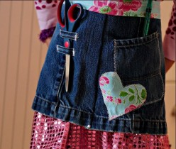 53 Incredible Old Jeans Craft Ideas
