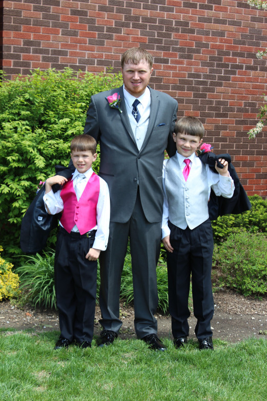 Ken (dad) and the boys!