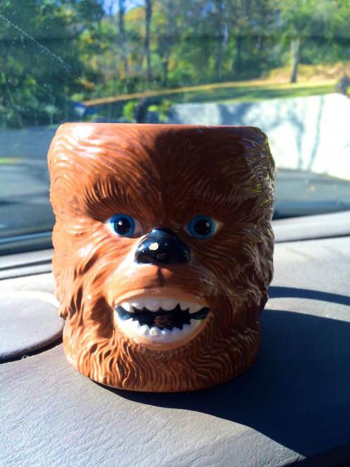 I am thankful for my favorite coffee mug