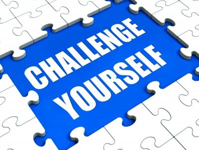 Challenge yourself to set your goals.