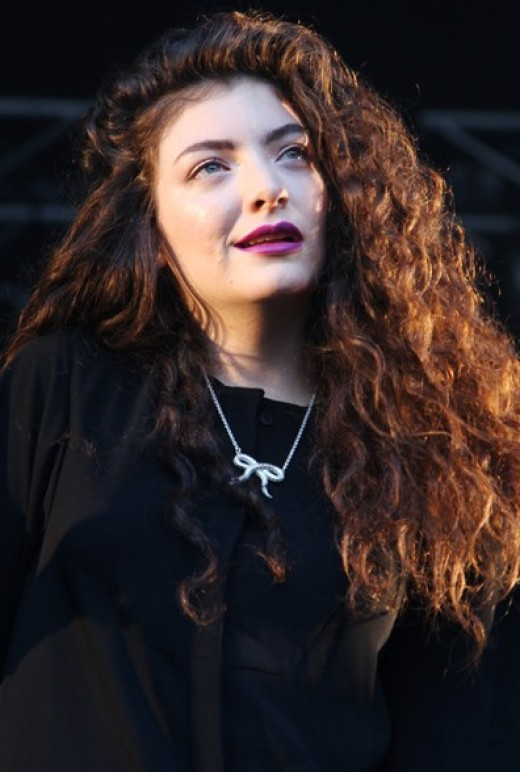 Lorde at the 2014 Sydney Laneway Festival. Photo Credit - http://en.wikipedia.org/wiki/Lorde