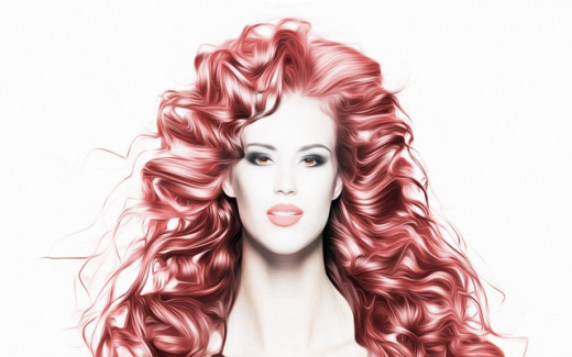 Red hair comes in many hues and can be enchanting in each.