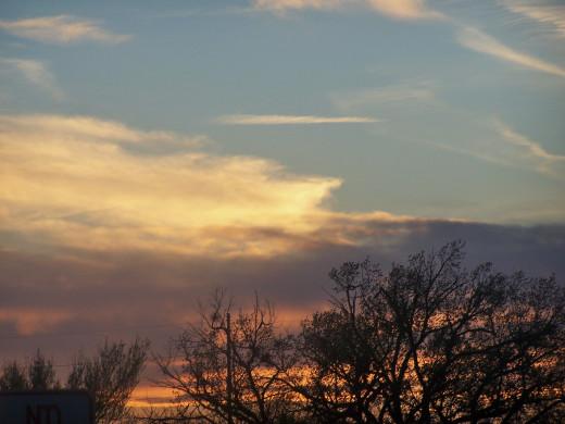 under azure skies...