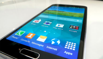 The Samsung Galaxy S5 introduced the AMOLED display to many consumers.