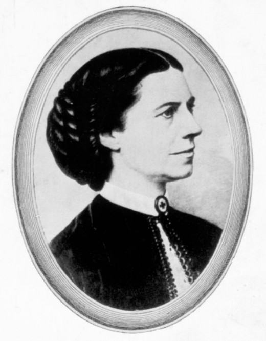 Clara Barton founder of the American Red Cross
