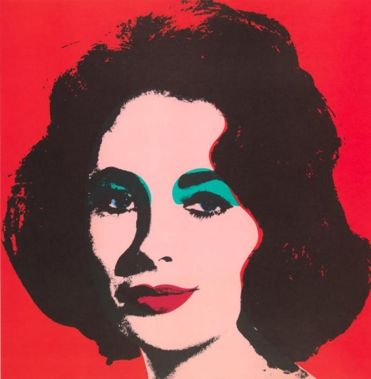Andy Warhol's Elizabeth Taylor Painting
