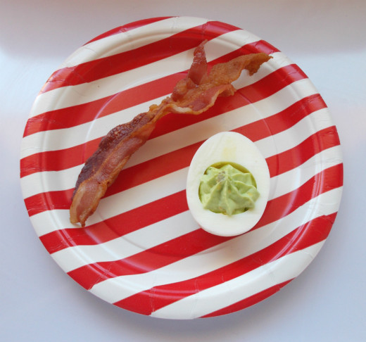 Green Eggs and Ham (or bacon)