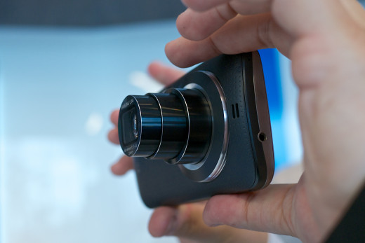 Separate lenses are available for most of today's popular smartphone cameras.