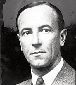 Sir James Chadwick (1891-1974) discovered an unknown particle at the centre of an atom, which became known as the neutron due to its lack of electric charge