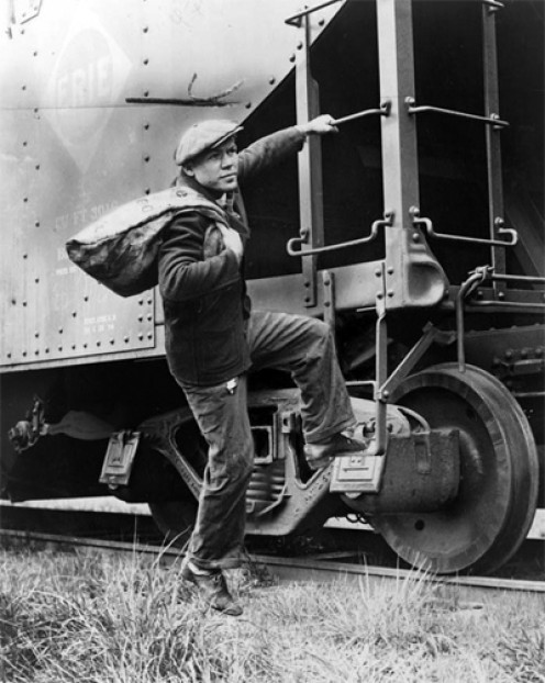 """""""Catching out,"""" means to catch a train"""
