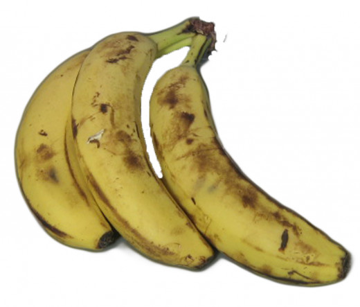 No need to discard very ripe and mushy bananas. They have a strong sweet taste and their extra softness and moisture enhances many baked recipes and banana desserts.