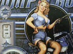 Amazing how girls were always used to get the attention of men gas station  customers