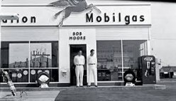 How gas stations once looked.