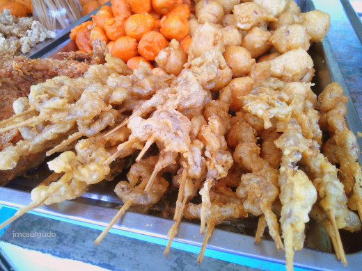 Isaw and a few view of the tokneneng