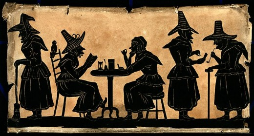 Were these ladies' confessions actual meanderings of real-life witches or simply the babbling of psychotic or pressured victims?