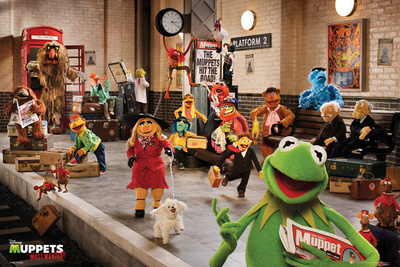 The Muppets Most Wanted Movie Cast Poster