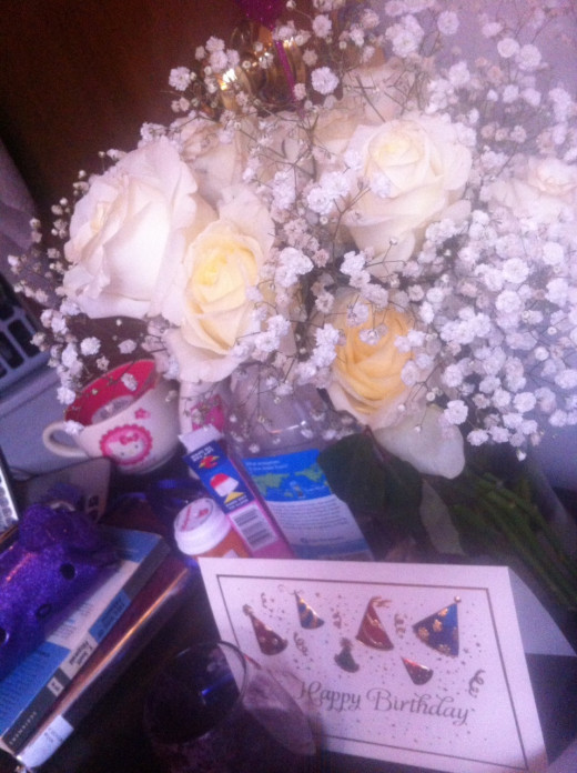 A little bit of Valentine/Birthday spoiling.