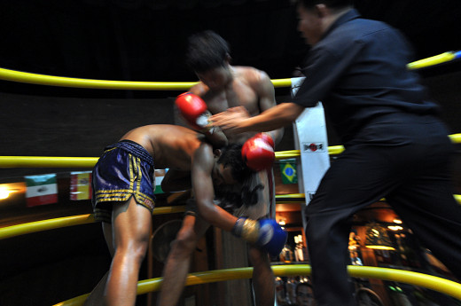 Well-timed elbow strikes can result in devastating knockouts in MMA or Muay Thai.