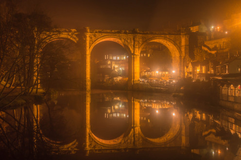The aqueduct in Knaresborough