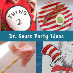 Dr. Seuss books inspire party theme for young children