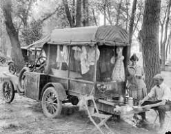 A true vintage camper