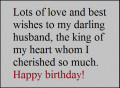 Heart Touching Happy Birthday Wishes for Husband