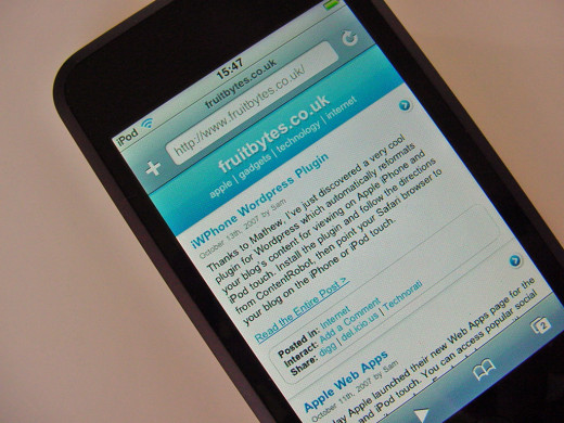 You should decide whether to optimize your WordPress blog for mobile devices when you first create it.