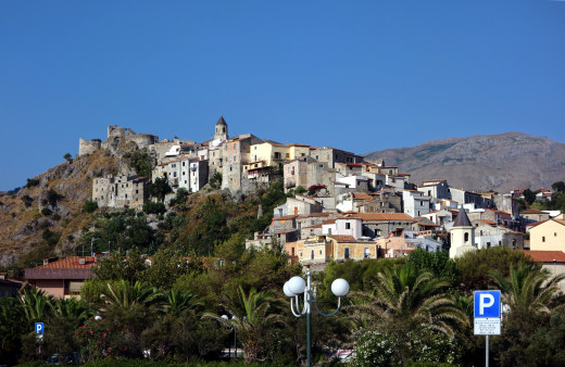 General View of Scalea