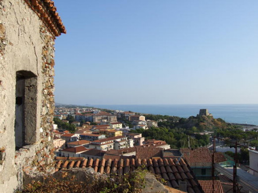 Panoramic view of Scalea