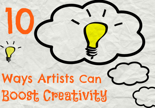 10 Ways to overcome mental block and boost both creativity and productivity.