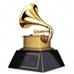 The coveted Grammy Award