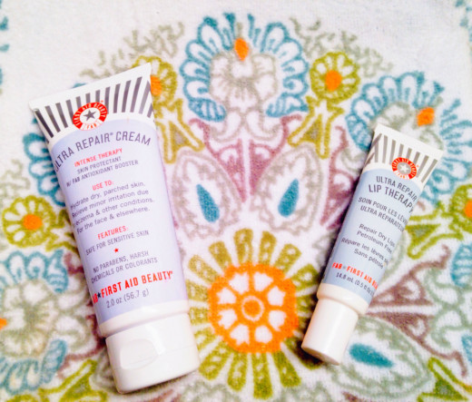 First Aid Beauty Ultra Repair Cream & Lip Therapy