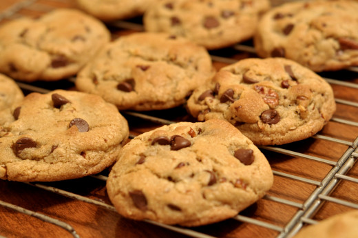 Chewy Chocolate Chip Cookies-- one of the most common comfort foods across the world.