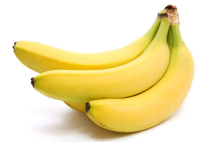 Bananas are scientifically proven to increase Serotonin levels in the brain, making a happier you!