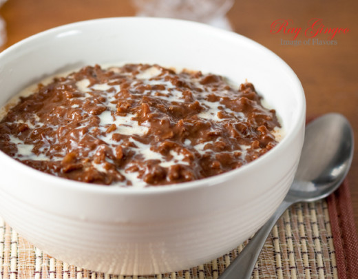 Filipino Champorado-- my personal comfort food!